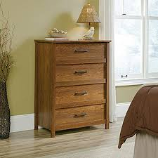 Saunders Shoal Creek Dresser by Cannery Bridge 4 Drawer Milled Cherry Chest 419068 The Home Depot