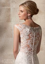 2702 bridal gowns dresses embroidered appliques net