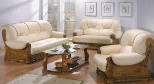 Wooden Sofa Design For Living Room Best 2017
