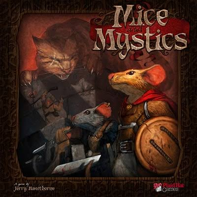 Plaid Hat Games Mice And Mystics Board Game