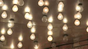 chasing vintage marquee light bulbs stock footage 3951083