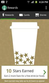 Starbucks offers their customers discounts such as free