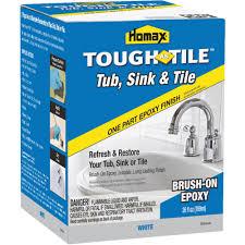 Bathtub Refinishing Training Videos by Homax Tough As Tile Tub Sink U0026 Tile Finish Walmart Com