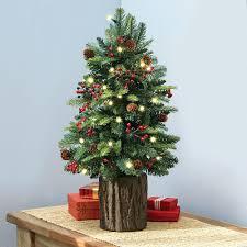 Mini Fibre Optic Christmas Tree by Table Top Tabletop Christmas Tree Fiber Optic Green Fibre Led