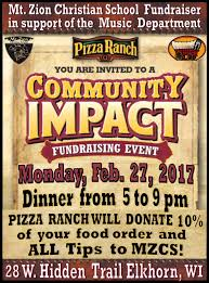 Pizza Ranch Fundraiser - MZCS Music Department 2-27-17 - Mt. Zion ... Tragically Gone Barn Dance Venue Near Arthur Nd Lost To Fire Pizza Ranch Fundraiser Mzcs Music Department 22717 Mt Zion Best 25 Ideas On Pinterest Party Crossfitcoworkers Barbells For Boobs Holiday Dance Night In May Nicasio California Anise Leann Rockstar Angel Foundation Kghl Offers Fun A Great Cause Steamboattodaycom The Church Kew Barnkew Twitter Step Website