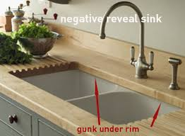 drop in sinks vs undermount