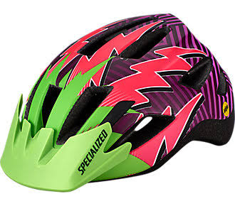 Specialized Shuffle Child LED Standard Buckle - Monster Green/Acid Pink Lightn - One Size