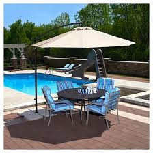 Patio Umbrellas At Target by Island Umbrella Santiago 10 U0027 Cantilever Umbrella Target