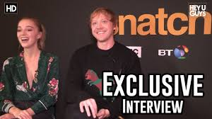 100 Rupert Grint Ice Cream Truck Phoebe Dynevor Exclusive Interview Snatch YouTube