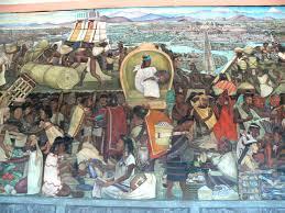 Jose Clemente Orozco Murales Palacio De Gobierno by Diego Rivera