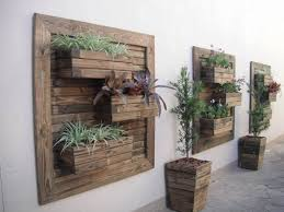 Interior Wall Planters Outdoors Incredible Hanging Outdoor Metal Garden Planter Fixer Upper The Throughout 18