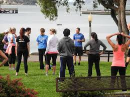 Weekly bootcamp session at Co Pottery Barn fice