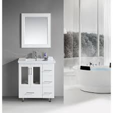 Single Sink Vanity With Makeup Table by 30 To 35 In Width Bathroom Vanities Homeclick