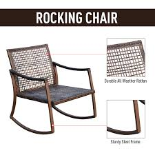 Aosom: Outsunny 3 Piece Outdoor Outdoor PE Rattan Wicker Patio ... Tortuga Outdoor Portside Plantation Dark Roast 3piece Wicker Maui Camelback Resin Steel Rocking Chair Set Of 1 Indoor Solid Red 2 Pc Foam Cushion Etsy Outsunny Folding Table Patio Durogreen Classic Rocker Black Plastic Chat The All Weather Jakarta Teak 1pc Fniture Rockers Direct Lexington Wickercom Metal Ding Chairs 2pack Seat Gardeon Grey Fnitureoffers Amazoncom Barton 3pcs Rattan Seating Bistro
