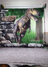 7ft Christmas Tree Amazon by Amazon Com 5x6 5ft Photographic Backdrops Dinosaur Backdrop Rock