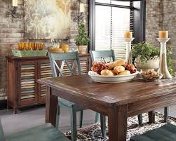 Mestler Side Chair By Ashley by Ashley D540 Mestler Rustic Brown Dining Table In Myrtle Beach