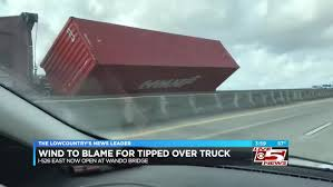 100 Used Trucks Charleston Sc Wando Bridge Reopens After Tipped Tractor Trailer Cleared