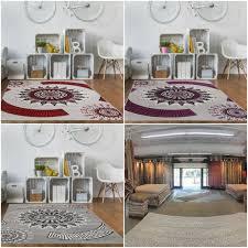 viktorianisch grau lila rot schwarz stil design wohnzimmer