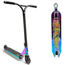 Lucky Covenant Pro Scooter Finished In NeoChrome
