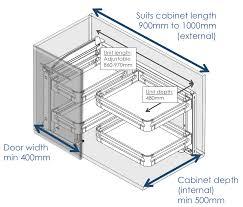Standard Kitchen Cabinet Depth by Decor Captivating Blind Corner Cabinet For Kitchen Decoration