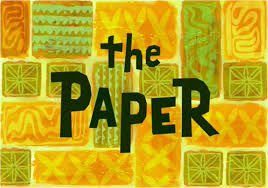 Spongebob Halloween Dvd Episodes by The Paper Encyclopedia Spongebobia Fandom Powered By Wikia
