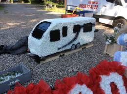 Gypsy S Trailer Caravan Tribute Pink Slippers Funeral Flower Truck