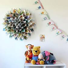 Paper Wall Decor Diy Ideas Recycled Things Intended For Decoration With
