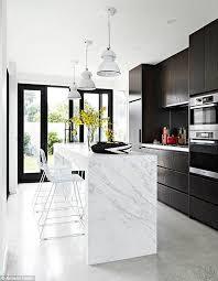 100 Kitchen Ideas Westbourne Grove Marble Kitchen Bench Home Decor Kitchen White Gloss