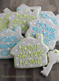 Home SWEET Cute Little House Cookies A Great Fun And Totally