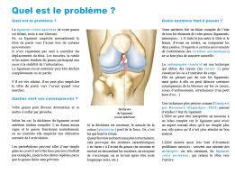 leonard sante traitement de l instabilité du genou par