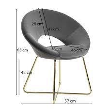 esszimmerstuhl samt dunkelgrau küchenstuhl mit goldenen beinen schalenstuhl stoff metall design polsterstuhl stuhl esszimmer gepolstert
