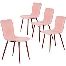 4 x designer stühle cat rosa polsterstühle esszimmerstühle