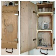 Lockable Liquor Cabinet Plans by Old Ammo Crate Turned Into Liquor Cabinet C U0026 M U0027s Creations