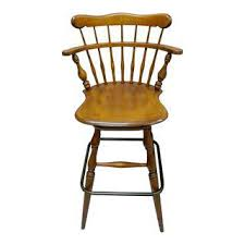 Ethan Allen Charlotte Swivel Chair by Vintage U0026 Used Traditional Stools Chairish