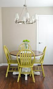 Use DIY Chalk Paint To Refinish An Old Oak Table And Chairs Best Part Is There No Sanding AND If You Hate The Color Just Over Entire