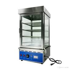 100 Countertop Glass 2019 Commercial Food Display Showcase Bun Steamer 450450880mm Tempered Stainless 4 Trays From Cereald 63116 DHgateCom