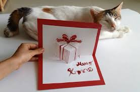 How To Make A Christmas Gift Pop Up Card