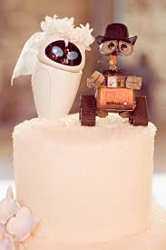 Cute Wall E And EVE Wedding Cake Top Decorations Photo By From The Hip