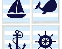 nautische kindergarten kunstdruck laufradsatz von rizzleandrugee