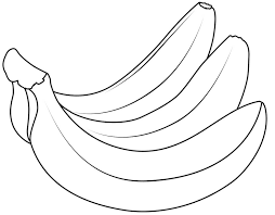Free Printable Coloring Banana Page 74 With Additional Gallery Ideas