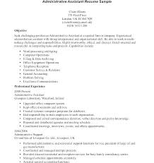 Medical Assistant Resume Examples 2016 Samples Template Administrative Objective For Office