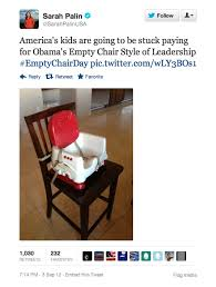 look what s happened to eastwood s empty chair