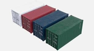 100 Shipping Container Model Cargo 3D