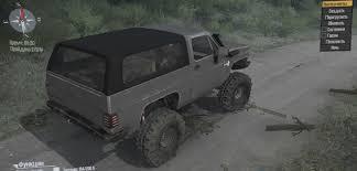 100 Blazer Truck Chevrolet K5 Spintires MudRunner Mod