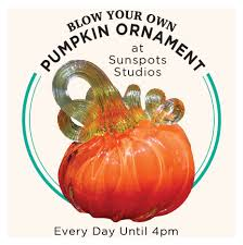 Glass Blown Pumpkins by Blow Your Own Glass Pumpkin Virginia Is For Lovers