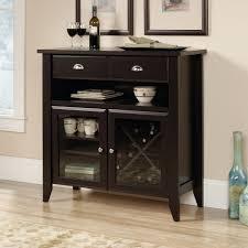 Modern Liquor Cabinet Ideas by Amazon Com Sauder Shoal Creek Sideboard Jamocha Wood Buffets