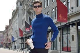 2016 New Winter Mens Korean Turtleneck Thick Hedging Sweater