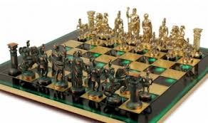 Greek Roman Theme Chess Sets
