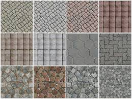 TEXTURES OUTDOOR PAVING TERRACOTTA TILES