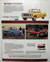 100 1981 Ford Truck The Leadership Lineup Sales Folder F150 Courier Econoline